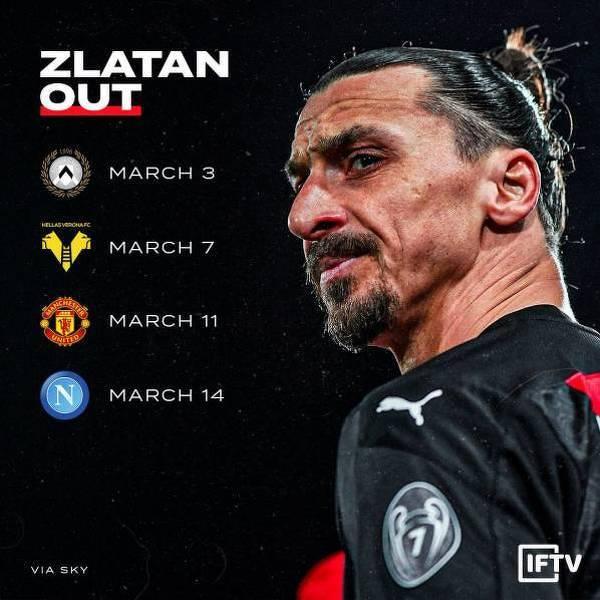 W tych meczach może nie zagrać Zlatan