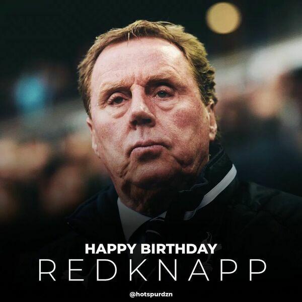 Harry Redknapp obchodzi 74 urodziny