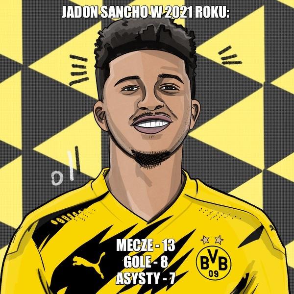 Sancho w 2021 roku odzyskał swoją najlepszą formę