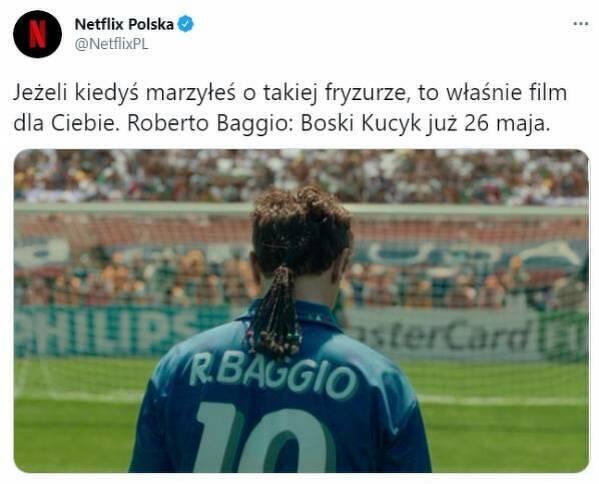 Netflix zapowiedział film o Baggio