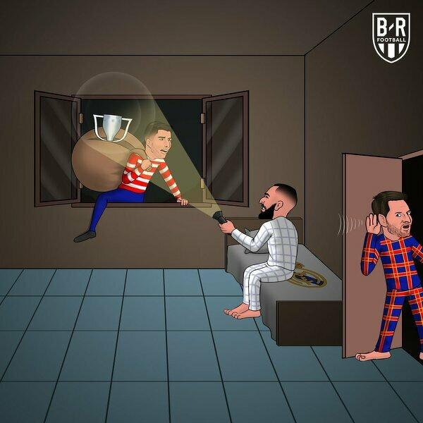 Benzema przeszkodził Atletico