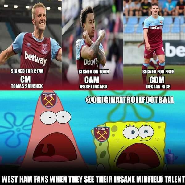 West Ham umie robić świetne transfery