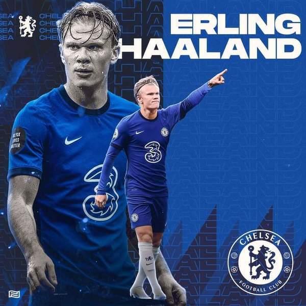 Haaland oficjalnie piłkarzem Chelsea