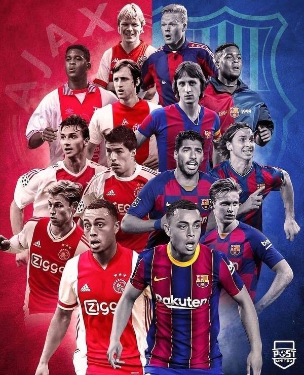Piłkarze, którzy grali dla Ajaxu i Barcelony