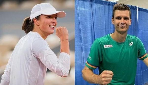 Jesteśmy dumni z naszych gwiazd tenisa! Iga i Hubert dają nam wiele radości