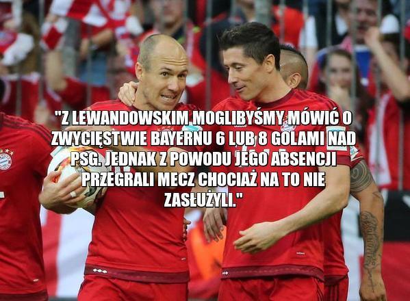 Robben po meczu