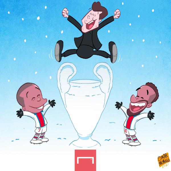 PSG wywiozło zwycięstwo ze śnieżnego Monachium