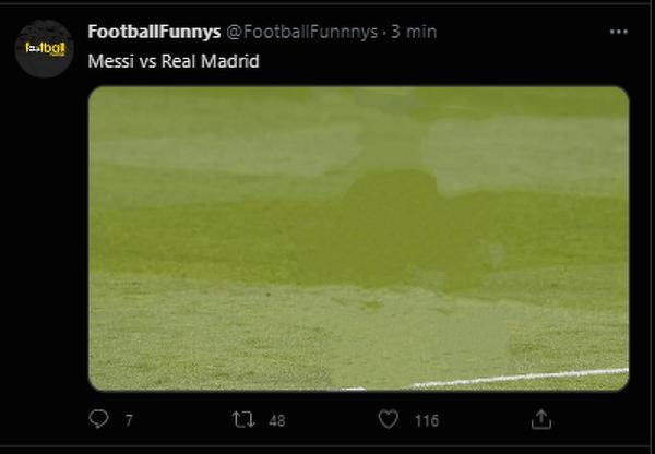 Messi po pierwszej połowie