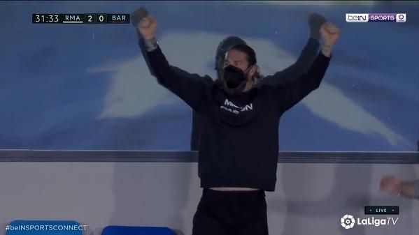 Sergio Ramos kibicuje swoim kolegom