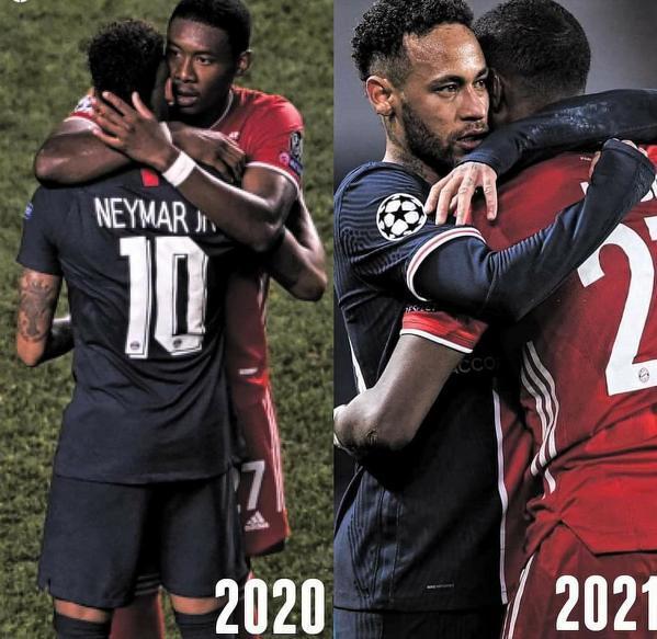 Tym razem to Neymar pocieszał Alabę
