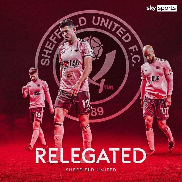 Sheffield United straciło matematyczne szanse na utrzymanie w Premier League