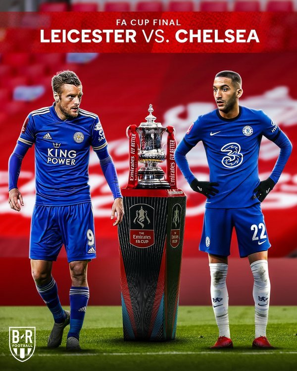 Leicester-Chelsea w finale Pucharu Anglii