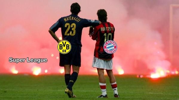 Tymczasem Bayern i BVB