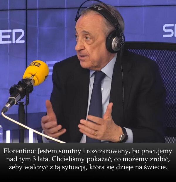 Wywiad z Florentino Pérezem