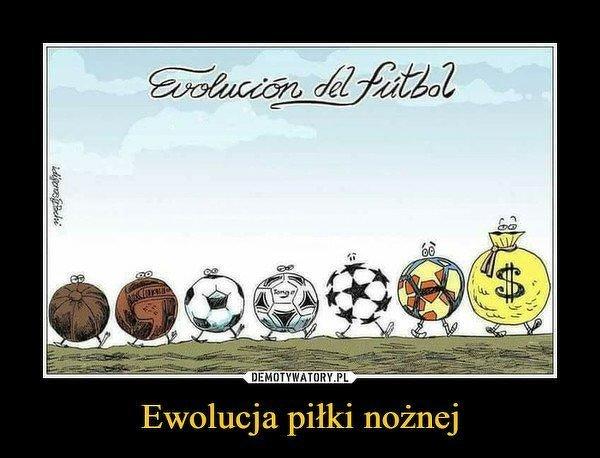 Ewolucja piłki nożnej
