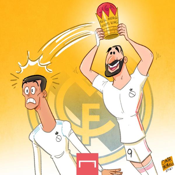 Karim Benzema został najlepszym asystentem w historii Realu Madryt
