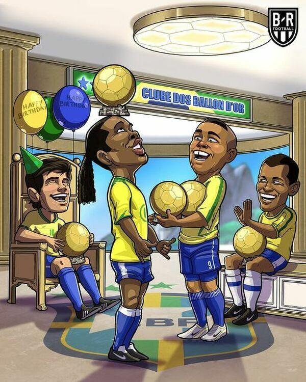 Czterej zwycięzcy World Cup 2002 zakończyli kariery ze Złotą Piłką