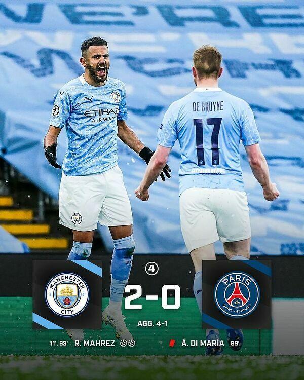 Manchester City po raz pierwszy w swojej historii zagra w finale Ligi Mistrzów!