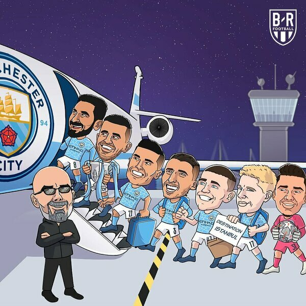 Man City leci do Stambułu