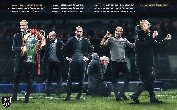 Guardiola czekał 10 lat na kolejny finał Ligi Mistrzów