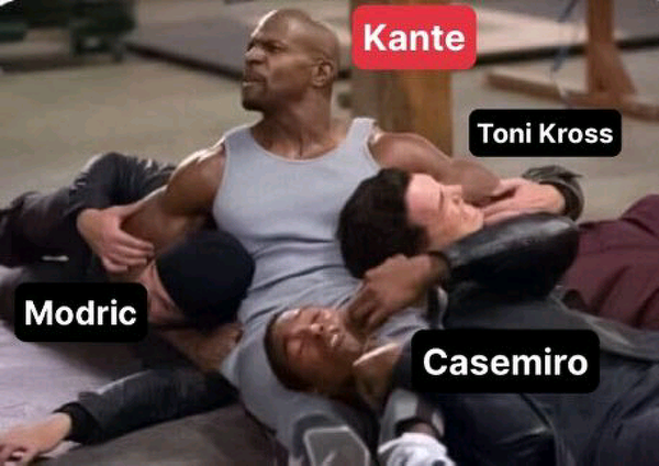 Świetny mecz Kante