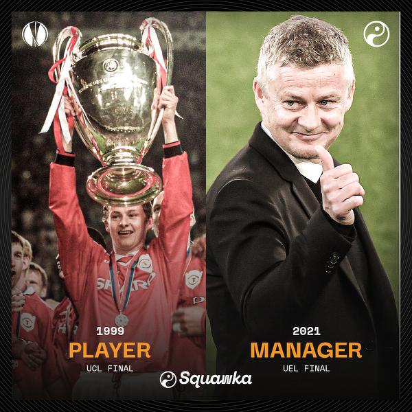 Zagrał w finale europejskich rozgrywek jako zawodnik i zagra jaki trener. Pierwsza taka osoba w historii Manchesteru United
