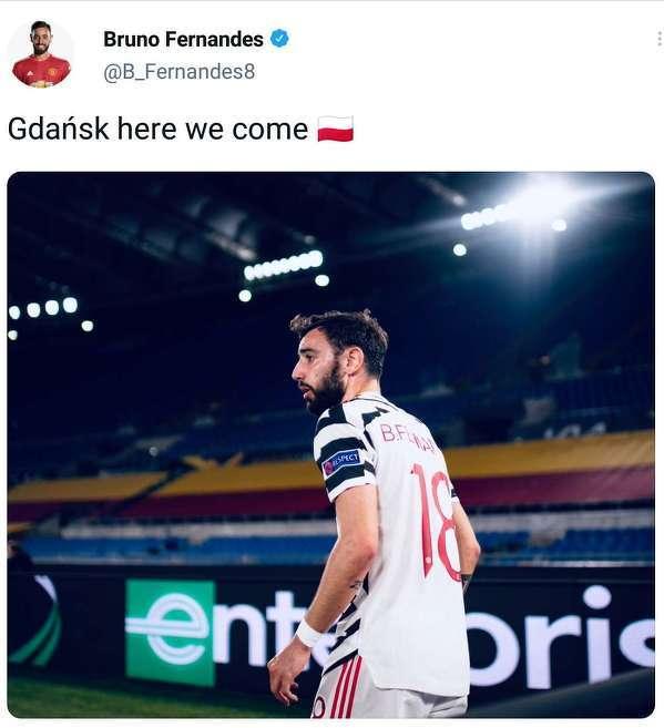 Bruno Fernandes już nie może się doczekać finału w Gdańsku