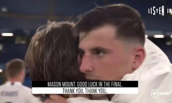 Modric życzył powodzenia Mountowi w finale LM
