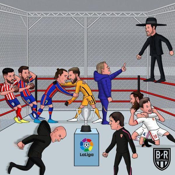 Ciekawa sytuacja na finiszu La Liga