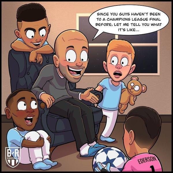 Guardiola zna klimat związany z finałem Ligi Mistrzów