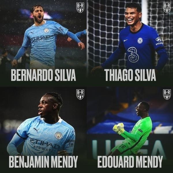 Silva i Mendy na pewno wygrają Ligę Mistrzów