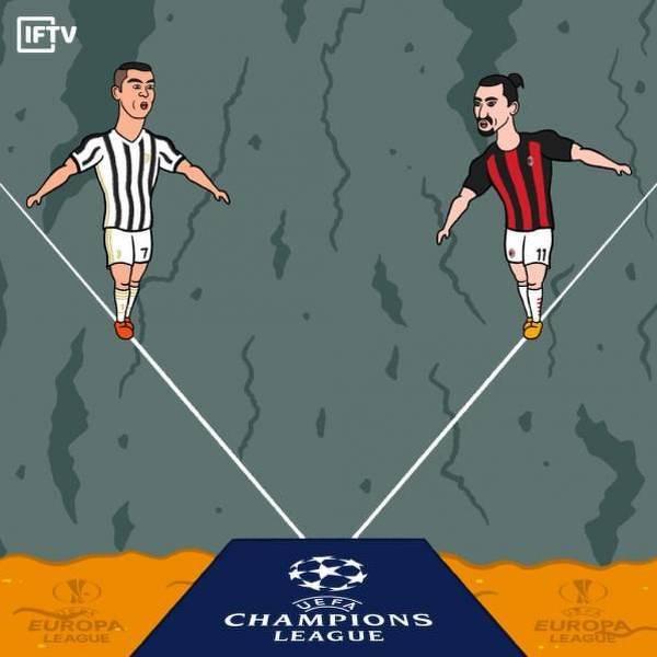 Juventus czy Milan? Kto wygra walkę o Ligę Mistrzów?