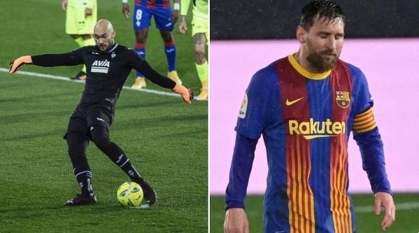Bramkarz Eibaru strzelił w tym sezonie więcej goli przeciwko Top3 La Ligi, niż Leo Messi