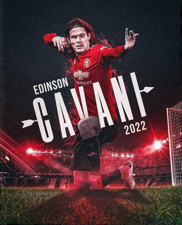 Edinson Cavani przedłużył kontrakt z Manchesterem United