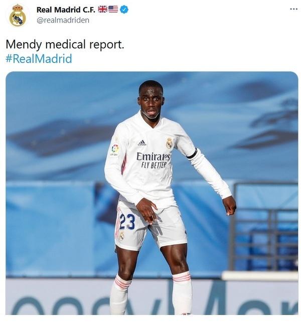 Kolejna kontuzja w Realu Madryt! Ferland Mendy może nie zagrać do końca sezonu i przegapić EURO
