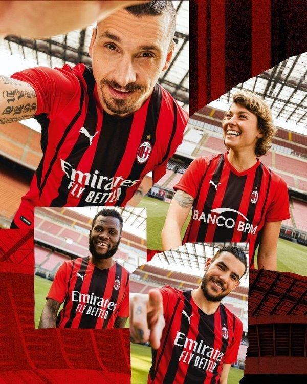 Nowe stroje Milanu