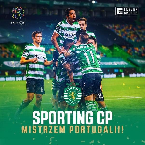 Sporting CP mistrzem Portugalii