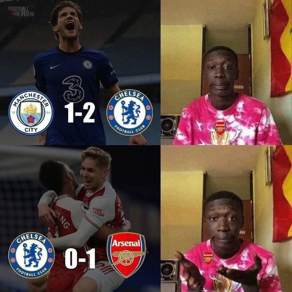 Arsenal pokazuje Manchesterowi City jak wygrać z Chelsea