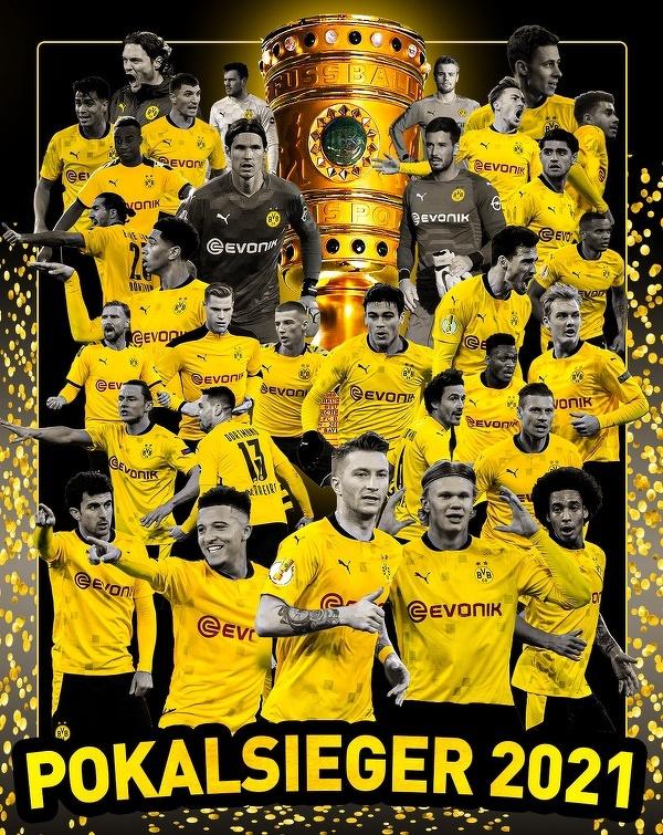 Borussia Dortmund wygrywa Puchar Niemiec!