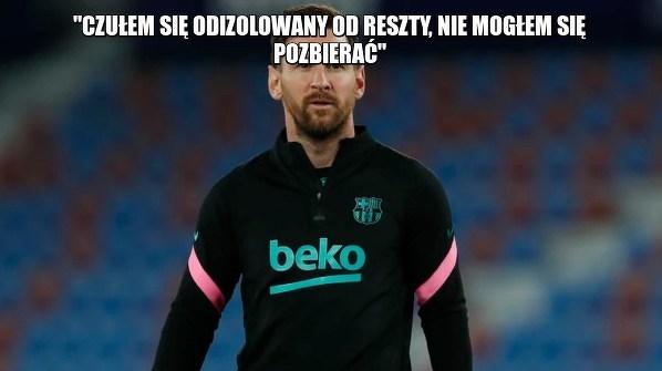 Messi odczuwał odosobnienie po opuszczeniu Barcelony przez Suareza