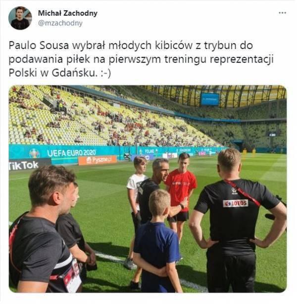 Ładny gest Paulo Sousy wobec młodych kibiców