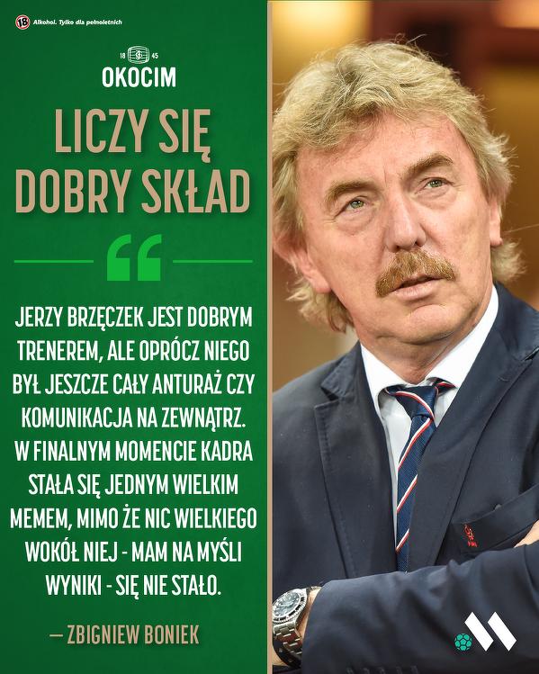 Zbigniew Boniek o Jerzym Brzęczku
