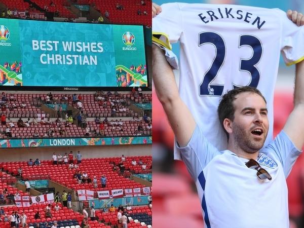 Na Wembley pamiętają o Eriksenie