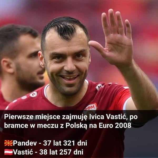 Goran Pandev został drugim najstarszym strzelcem w historii EURO