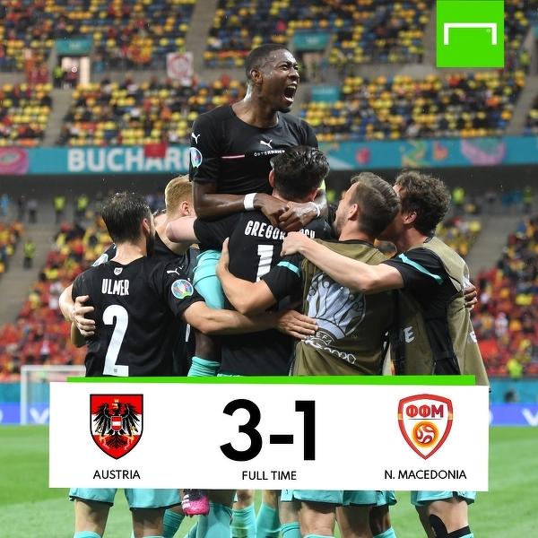 Austria odnosi swoje pierwsze zwycięstwo w historii występów na Euro