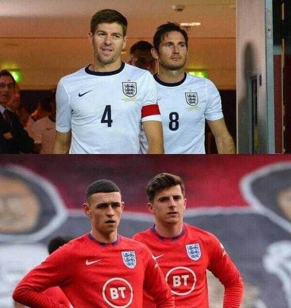 Nowa generacja w reprezentacji Anglii