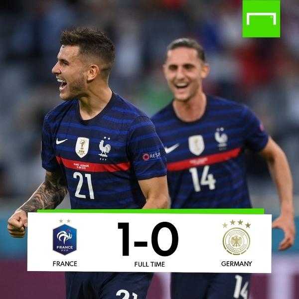 Francuzi lepsi od Niemców