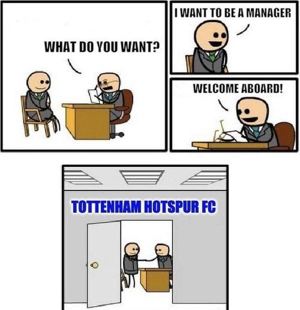 Tottenham szukający trenera