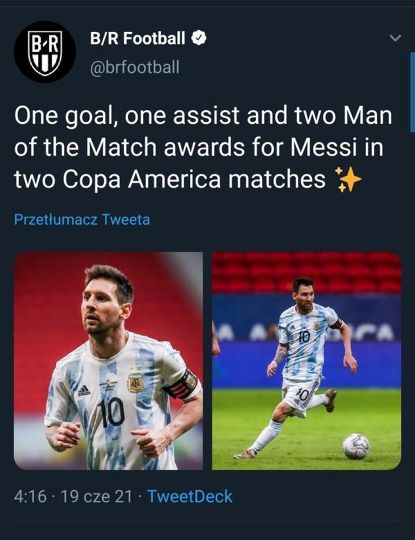 Czy Messi poprowadzi kadrę do tryumfu?