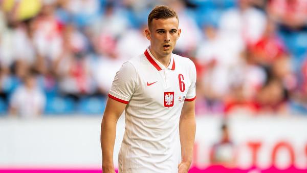 Kacper Kozłowski został najmłodszym piłkarzem, który zagrał na mistrzostwach Europy